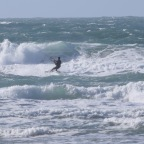 Wind and Waves at Watergate Bay